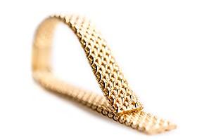bracciale in oro per orologio
